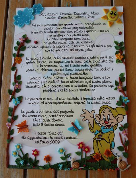 lettere di ringraziamento alle maestre frasi ringraziamento maestre asilo