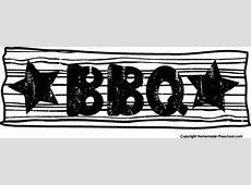 Free BBQ Clipart Bbq Border Clip Art Free