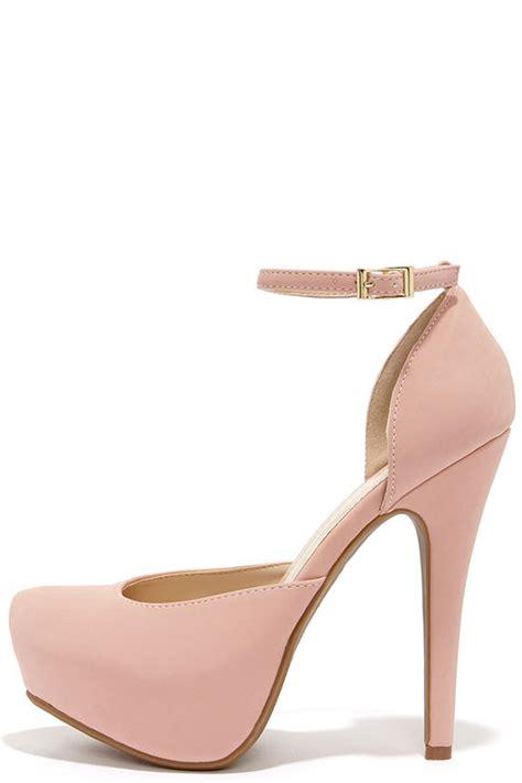 light pink platform heels pretty pink heels platform heels high heels 32 00