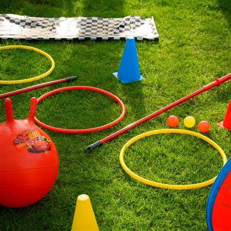 easy backyard obstacle course lightning mcqueen s obstacle course disney inspired