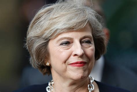 uk prime minister theresa mays shoe game is