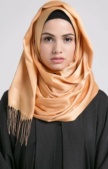 tutorial pashmina wolfis model jilbab masa kini dan cara memakainya jilbab modern