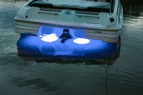 front boat lights led underwater boat lights and dock lights triple array