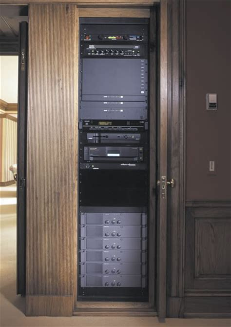 middle atlantic visio middle atlantic axs series pull out av rack furniture