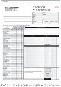 Electrical Invoice Template Free Electrical Invoice Template Images