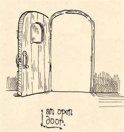 open sketch day 1 an open door by papergori on deviantart