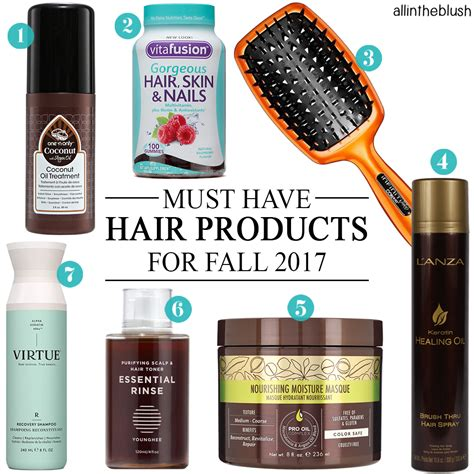 must have hair must have hair products for fall 2017 all in the blush