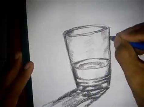 cara gambar bentuk dan arsir transparan