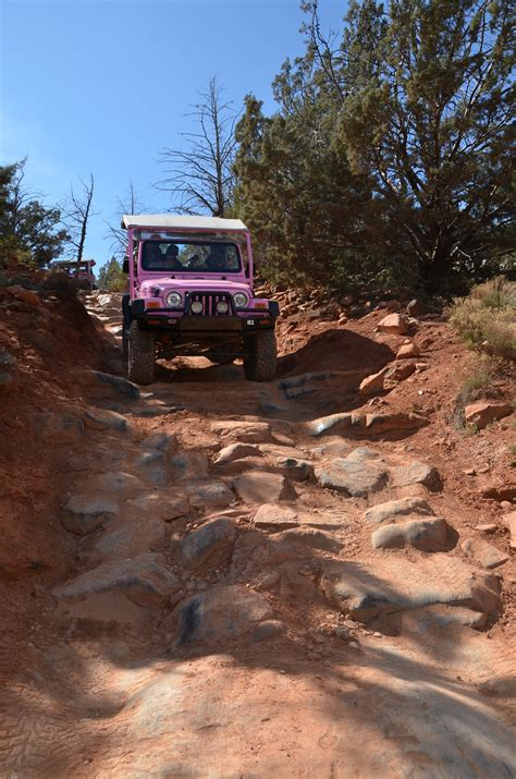 Sedona Jeep Trails Pink Jeep Tours