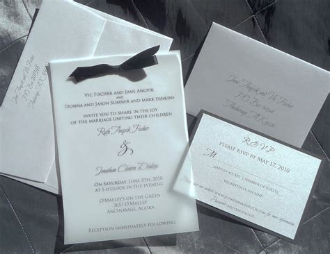 wedding invitations with vellum karla delong weddings and events vellum invitations