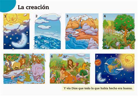 Imagenes Hermosas De La Creacion De Dios | la creaci 243 n de dios para imprimir material para maestros