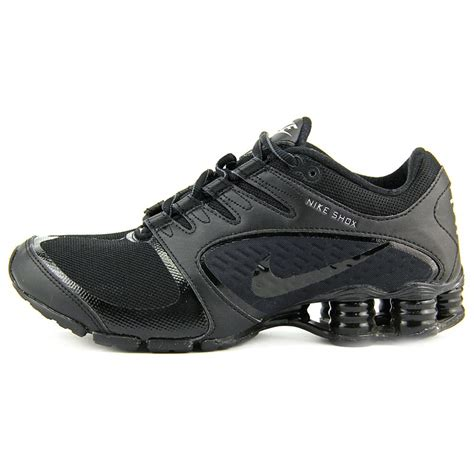nike shox vaeda womens us size 11 black running shoes uk 8