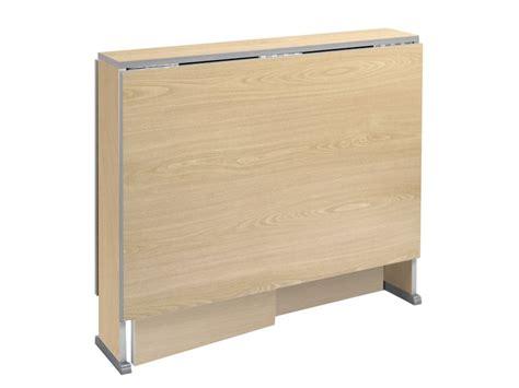 mesa de cocina abatible mesa abatible de madera en aglomerado y de apertura autom 225 tica