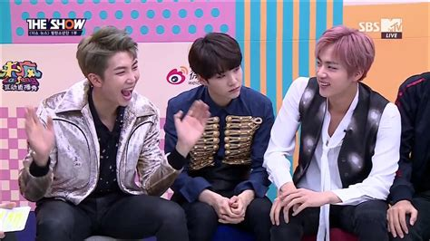 bts variety show 161025 the show news bts part 1 eng sub youtube
