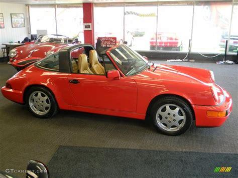1990 porsche 911 red 1990 guards red porsche 911 carrera 4 targa 49195367