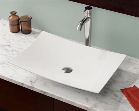 porcelain bathroom sinks pros and cons his and vessel sinks whitehaus collection