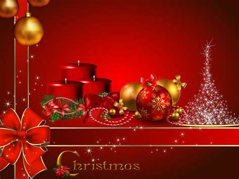 merry christmas red candles decorative balls christmas red wallpaper hd  wallpaperscom