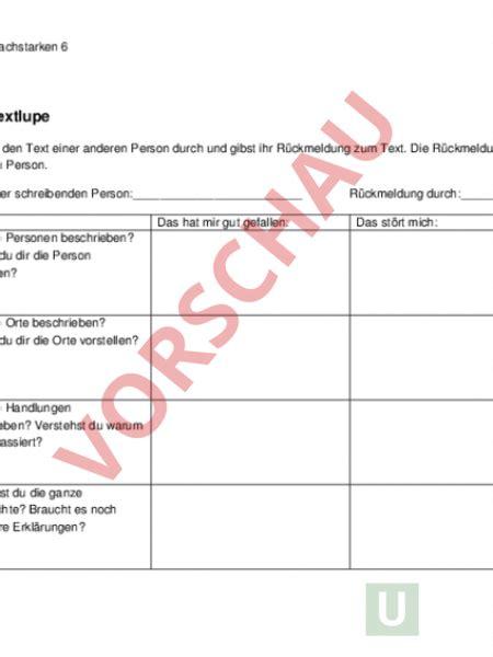 nachhilfe für zuhause www unterrichtsmaterial ch texte schreiben