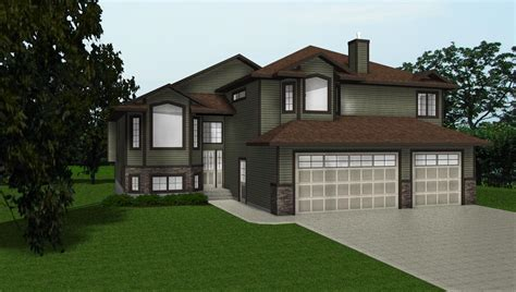 bi level house plans with garage bi level plans by