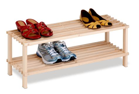 Wood Shoe Rack For Closet by Wooden Shoe Racks For Closets Shoe Cabinet Reviews 2015