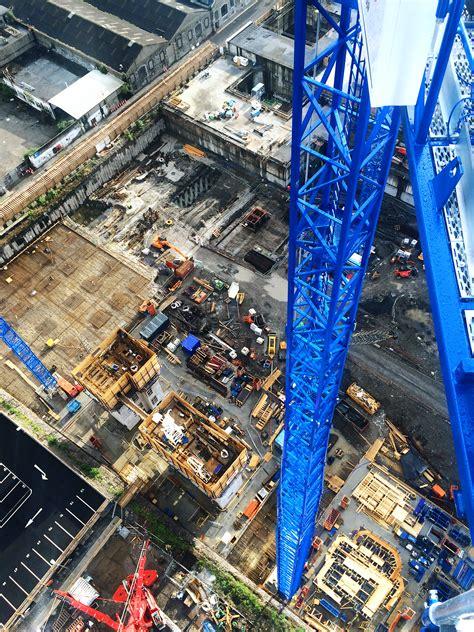 660 sq ft to meters cranes lifting to erect six raimondi cranes on