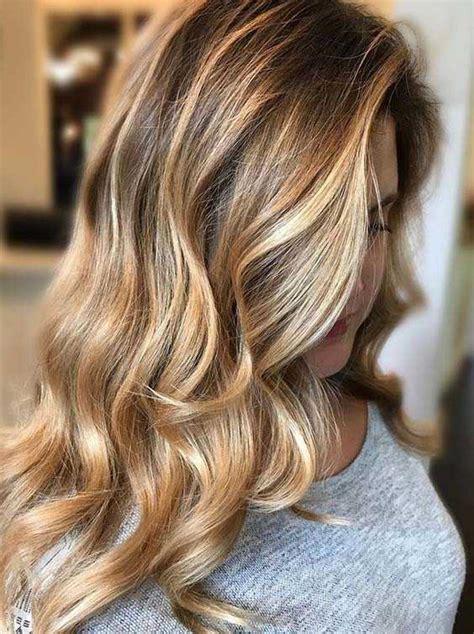 21 honey hair color ideas of 2018 12 magnifiques printemps couleur des cheveux des id 233 es pour 2018 votre coiffure