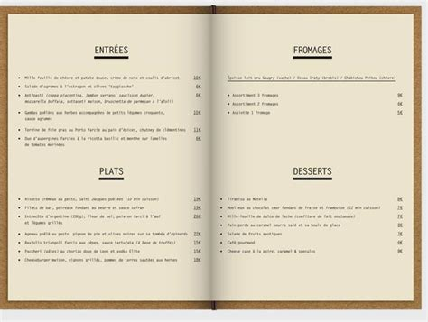 menu layout with pictures 45 inspiring exles of restaurant menu designs jayce