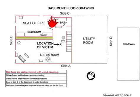 layout of investigation report fire fighter fatality investigation report f2008 08 cdc niosh