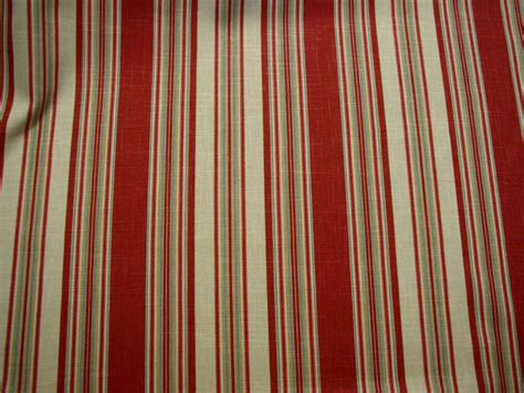 Upholstery Outlet by Waverly Stripe Ensemble Crimson Upholstery Fabric 7 Y Ebay