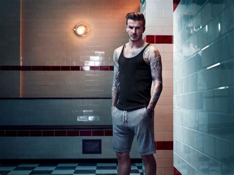 That Half An Inch By Beckham Digested By The Guardian by David Beckham Bodywear For H M 2013秋冬广告高清图片 品牌库 观潮时尚网