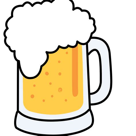 beer vector unique cartoon beer vector drawing 187 free vector art