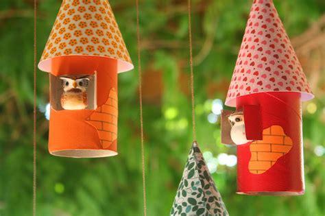 diy friday colourful birdhouses bellissima kids