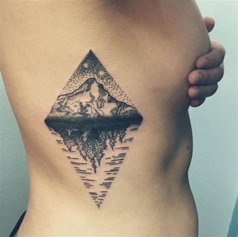 tattoo prices for rib cage mt hood tattoo on ribcage by em white tat tat tatted
