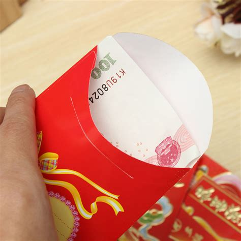 new year money bag template 6pcs wealth chinatown festival envelope