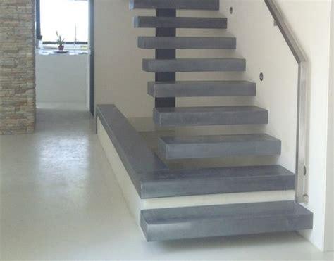 Escalier Moderne Beton by Escaliers En B 233 Ton