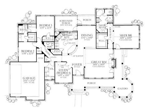 4 bedroom country house plans 172 best house plans images on pinterest house floor
