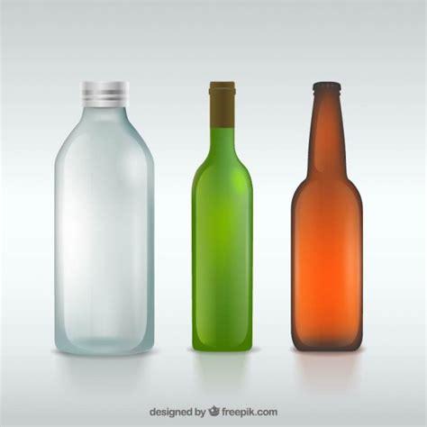 Bottle Ventor glass bottles vector free