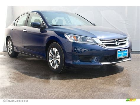 obsidian blue color 2015 obsidian blue pearl honda accord lx sedan 104798839