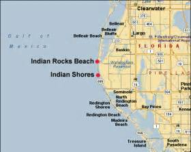 where is indian shores florida on map indian rocks and indian shores weather related to