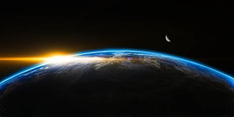 Free photo: Sunrise, Space, Outer, Globe, World   Free