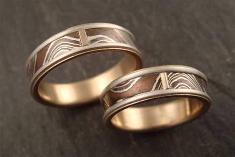Handmade Wedding Band - to the wire for unique handmade wedding rings