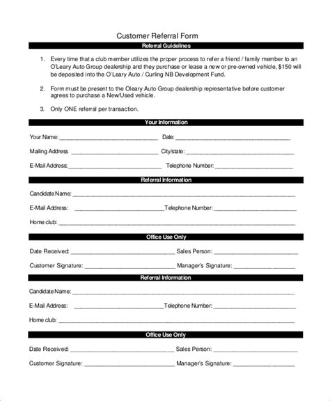 referral template referral form template pictures to pin on