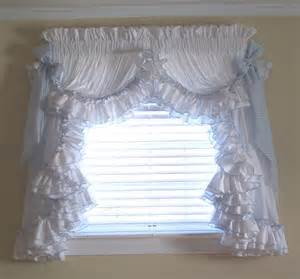 Ruffled Window Curtains Ruffled Country Curtains Curtains Blinds