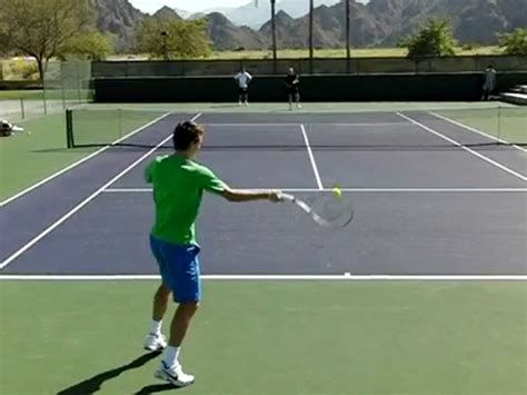 tennis swings section 03 pro exles of the forehand forward swing