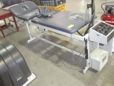 Refurbished Chattanooga Cg Txf 1 Traction Table For Sale