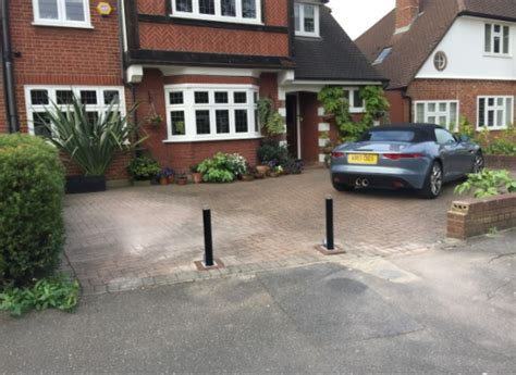 security posts for driveways telescopic driveway
