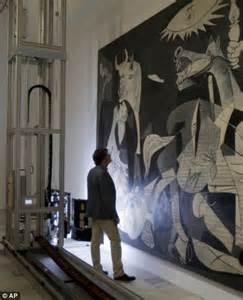 picasso paintings cost pablo picasso s epic guernica to get a check up from a 163
