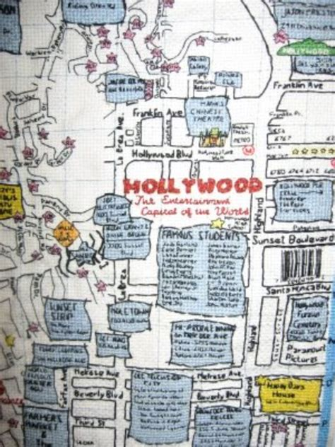 hollywood celebrity tour map hollywood stars homes tour map homemade ftempo
