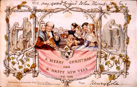 deck the holiday s the history of christmas cards