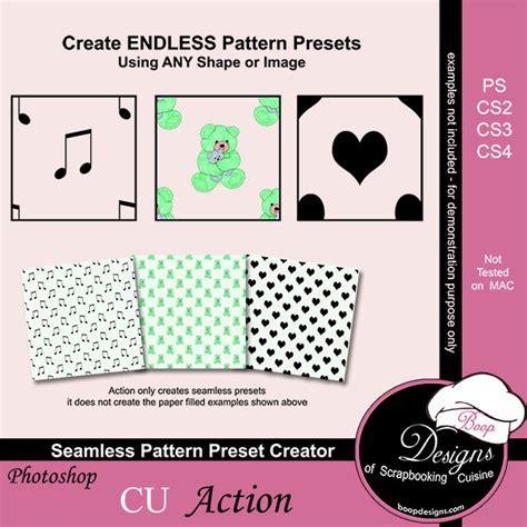 Seamless Pattern Creator   seamless pattern preset creator by boop designs seamless
